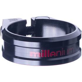 Sixpack Millenium Collier de selle Ø34,9mm, black/red